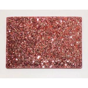 Kate Spade Glitter Credit Card Holder NWT Pink